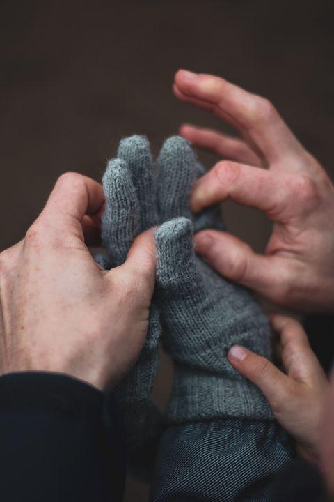 Wool, Woolen, Finger, Hand, Knitting, Thread, Nail, Close-up, Thumb, Textile,