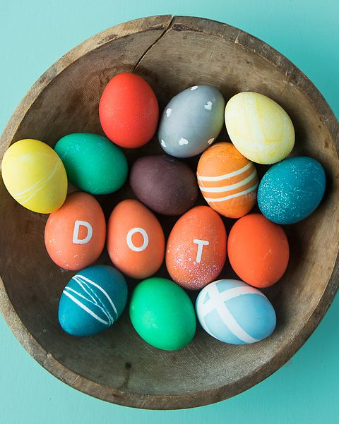 How to Dye Eggs With Food Coloring - How to Dye Bold, Bright Easter Eggs