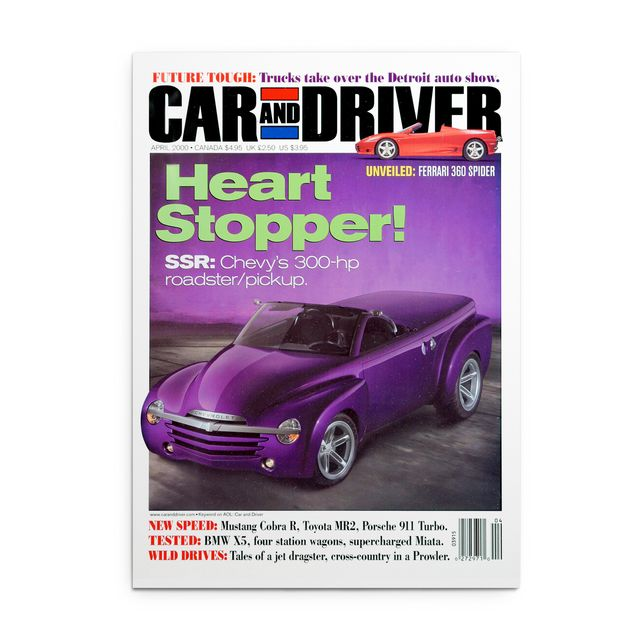 april 2000 issue of car and driver