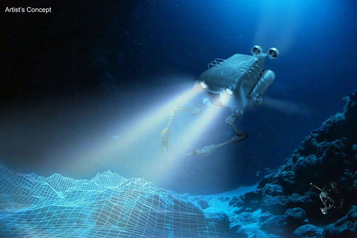 DARPA Wants an Autonomous Drone That Can Do Dirty Work on the Ocean Floor