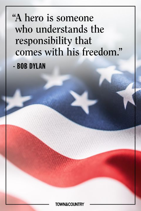 bob dylan memorial day quote