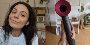 dyson hair dryer review - women's health uk