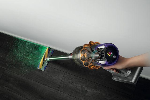 vacuum with laser