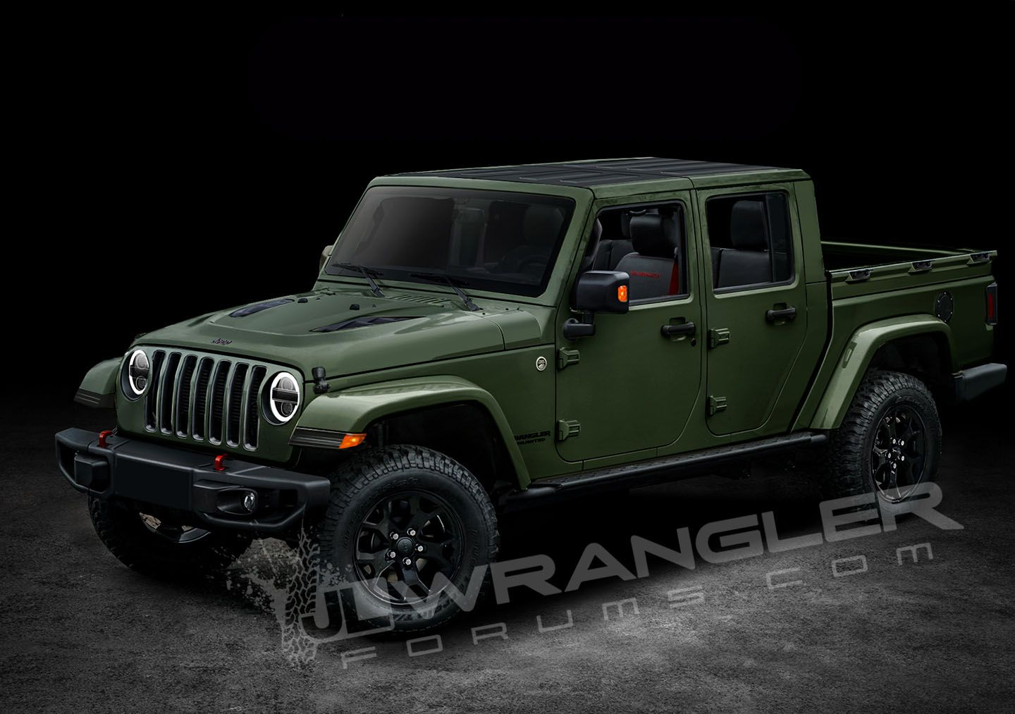 Jeep Truck >> 2019 Jeep Wrangler Pickup News Photos Price Release Date What