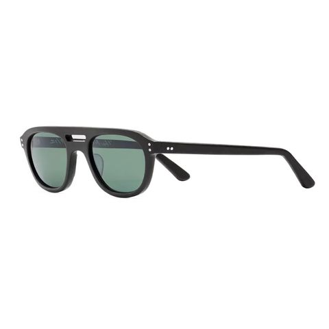 eb meyrowitz the neutra aviator style matte acetate polarised sunglasses