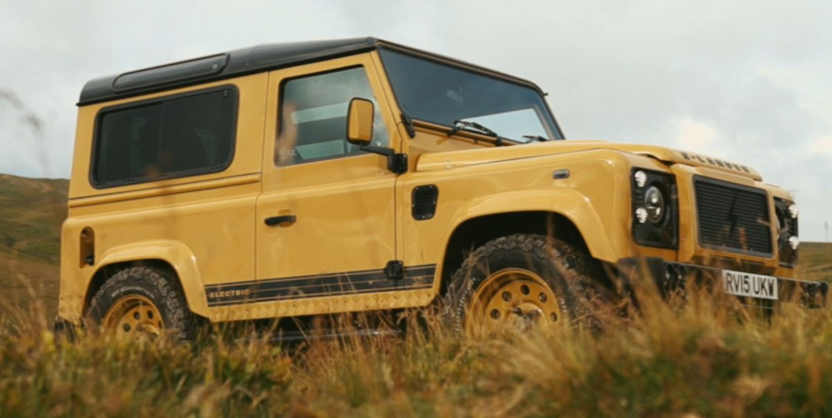Land Rover Defender Gets Tesla Power and up to 600 hp