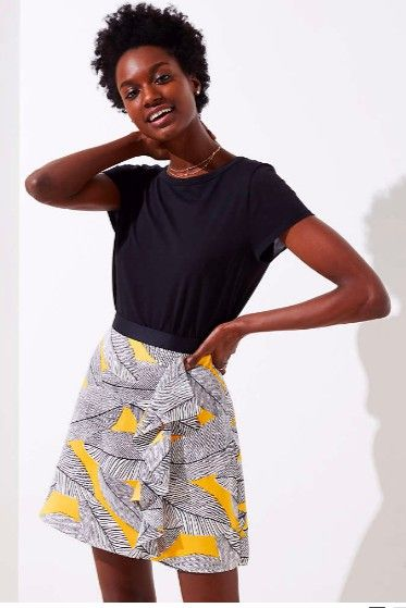 Clothing, White, Shoulder, Waist, Yellow, Fashion, Fashion model, Joint, T-shirt, Shorts,