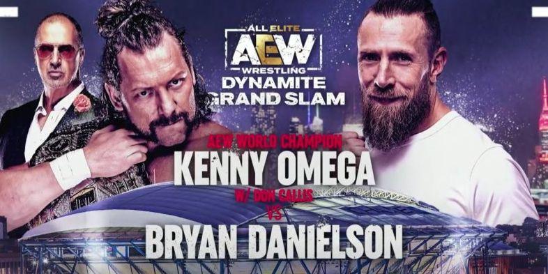 AEW announces Kenny Omega vs. Bryan Danielson for two-night Grand Slam