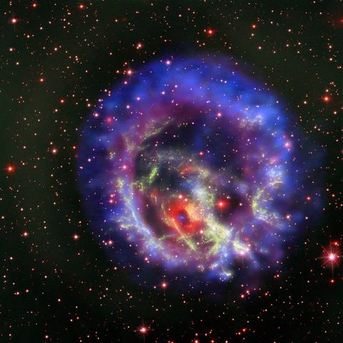 Astronomers have discovered a special kind of neutron star for the first time outside of the Milky Way galaxy.