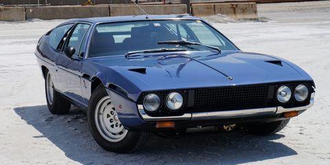 Land vehicle, Vehicle, Car, Sports car, Lamborghini espada, Classic car, Coupé, Supercar, Lamborghini jarama, Sedan,