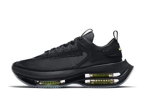 nike air zoom double stacked黑色雙層氣墊球鞋