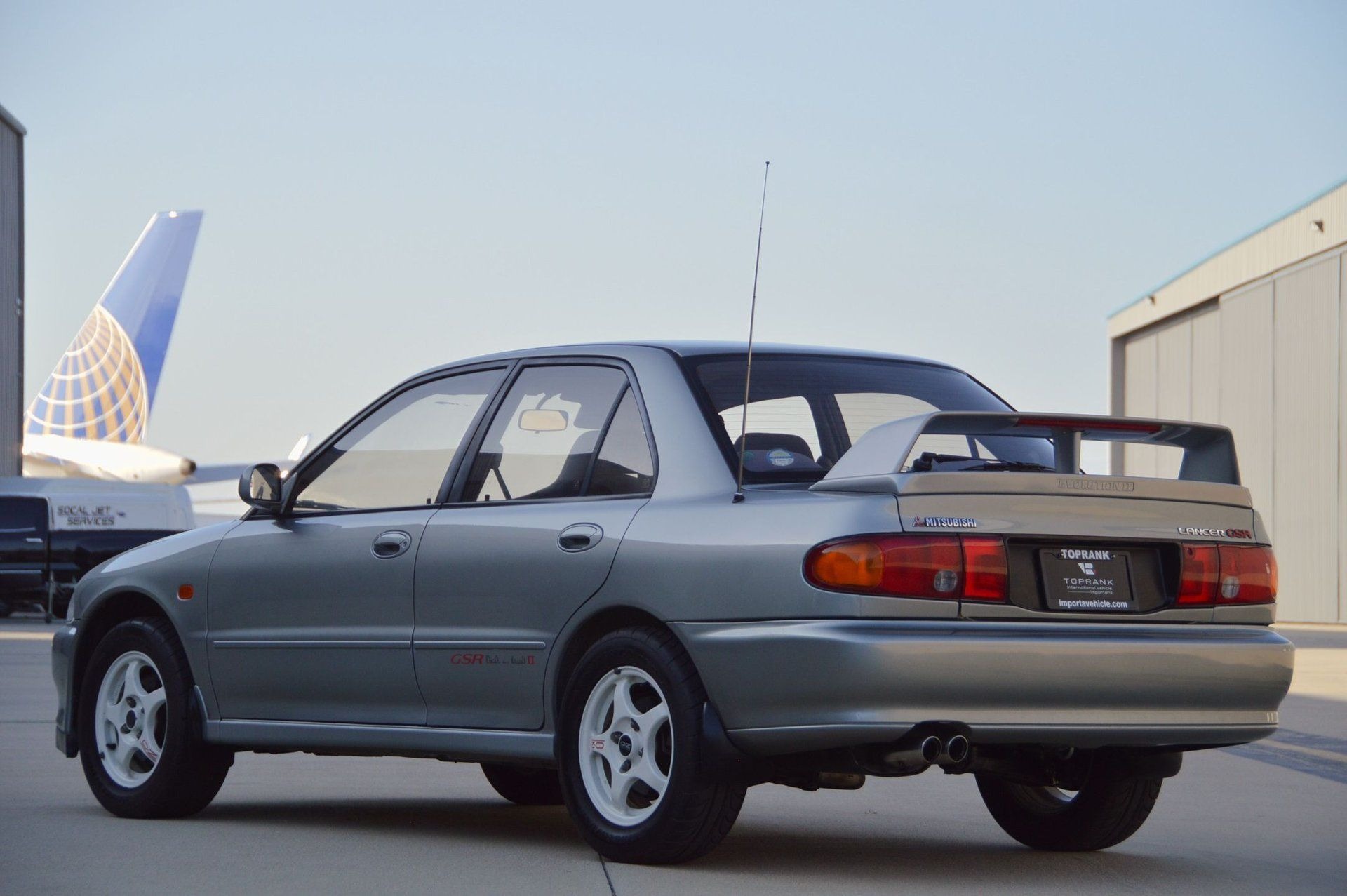 Buy This Ultra-Clean Lancer Evolution II Instead of the STI You Were Considering