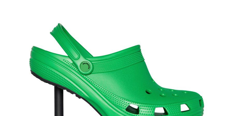 Balenciaga Unveils Stiletto Crocs and Rainboots in Newest Collab