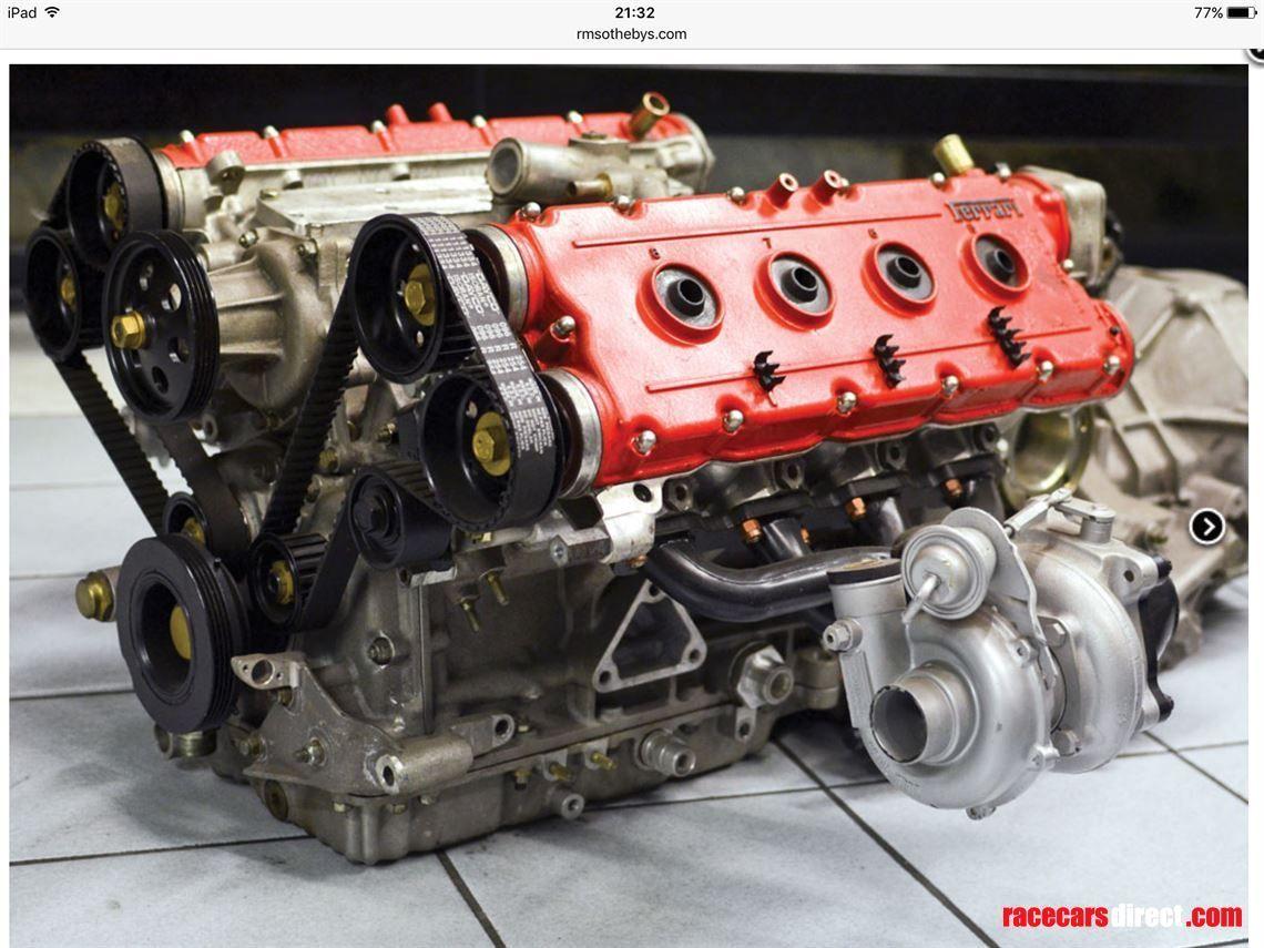 Experimental Twin Turbo Ferrari V8 For Sale Rare Ferrari Engine