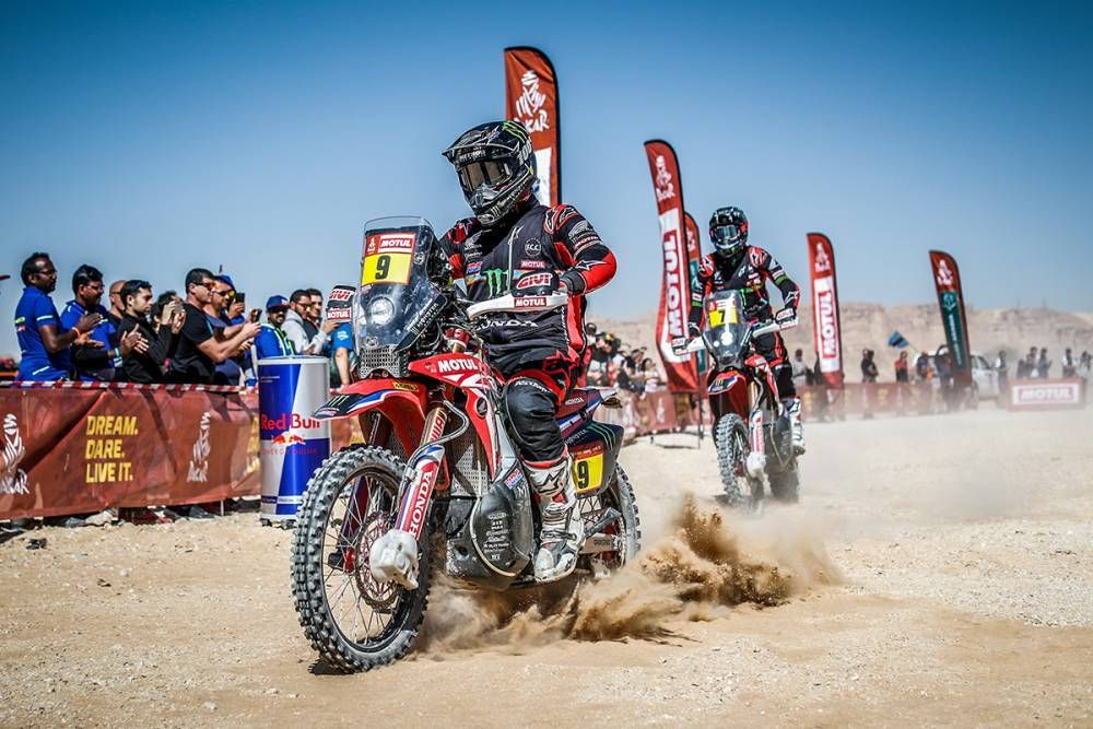 American Ricky Brabec, Honda Turn in a Historic Performance to Win Motorcycle Class in Dakar Rally
