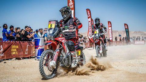 Ricky Brabic wins Dakar Rally for Honda