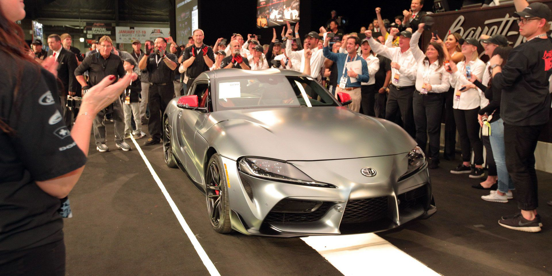 Global 1 toyota gr supra made 2 1 million for charity