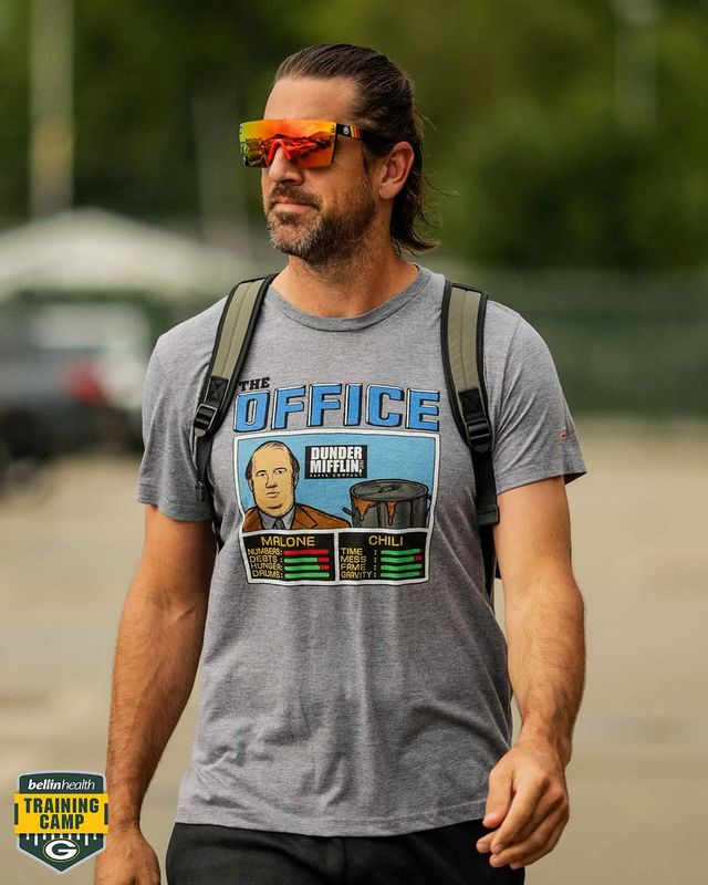 aaron rodgers packers training camp