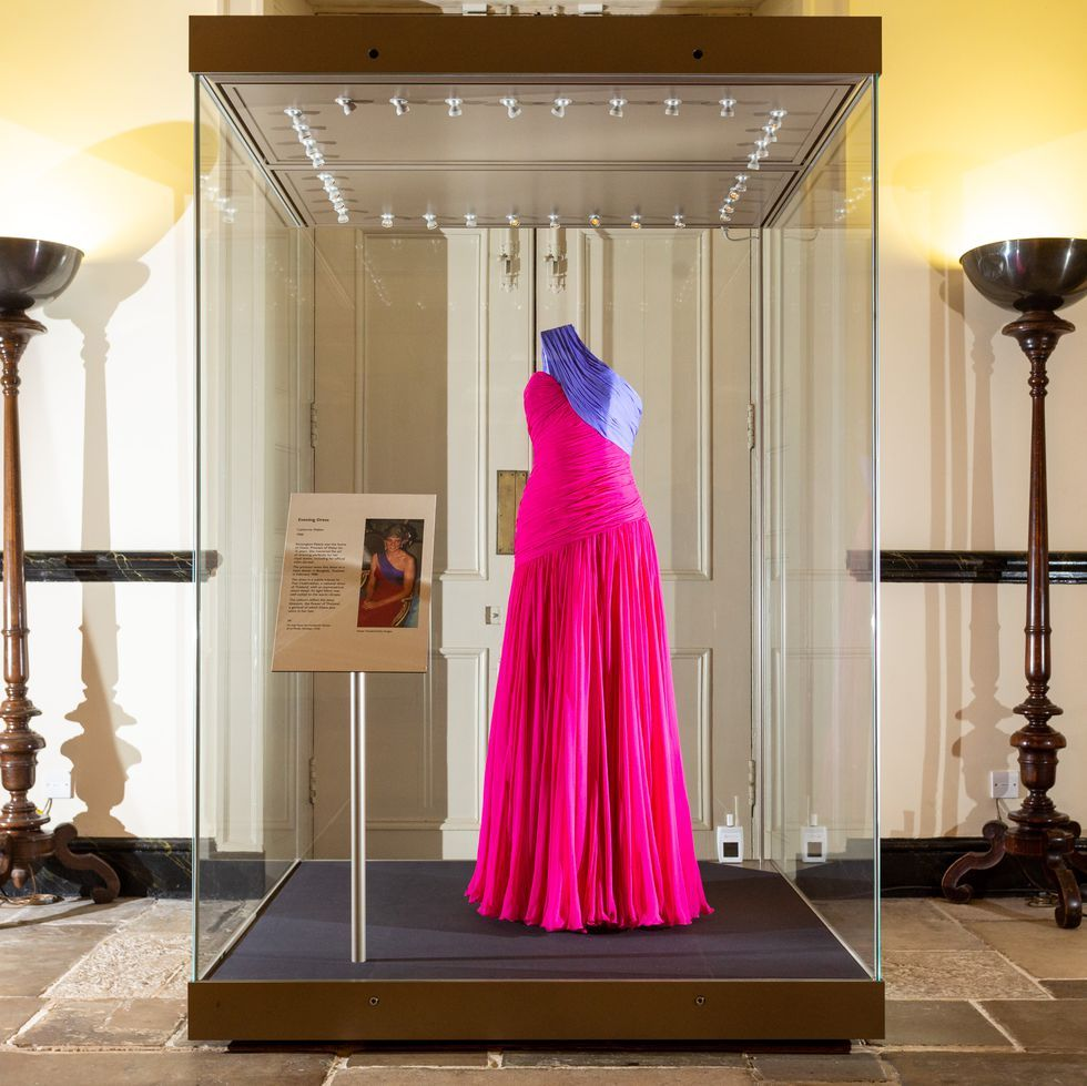 A New Princess Diana Fashion Display Has Opened At Kensington Palace