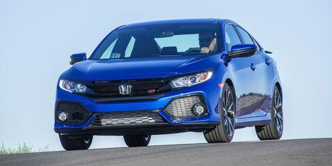 Honda Civic Si Sedan blue