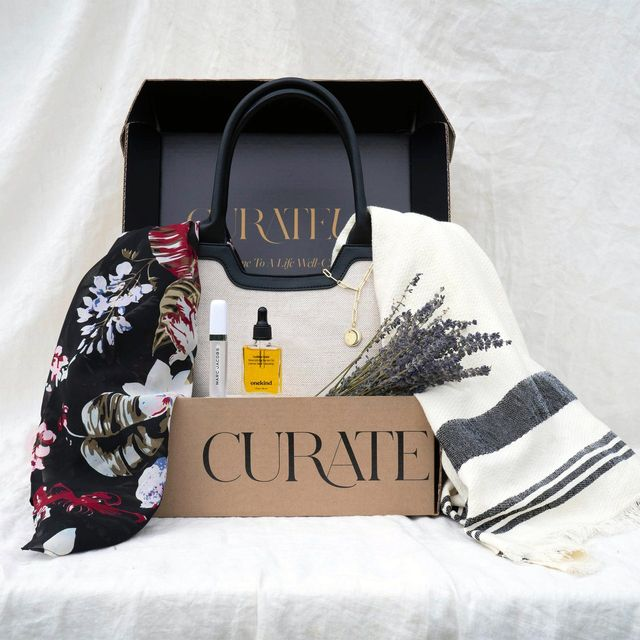 curate box of style in a roundup of the best subscription boxes for women 2021