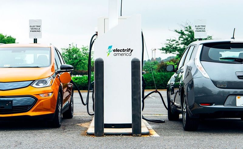 VW Puts EV Fast Chargers at Walmart Stores   News   Car and