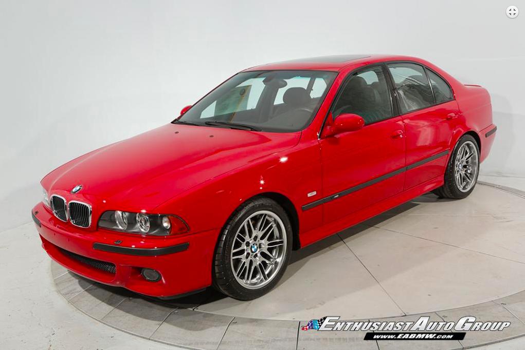 E39 Bmw M5 For Sale For 150 000 Via Enthusiast Auto Group