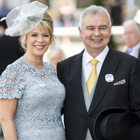Ruth Langsford shares photo of 'embarrassing' injury at the Epsom Derby
