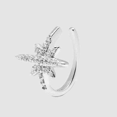 ear cuff estrella plata luxenter