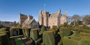 Earlshall Castle - St Andrews - exterior - Scotland - Savills