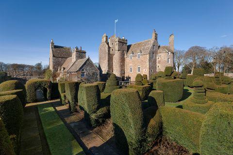 Earlshall Castle - St Andrews - exterior - Scotland - Savills