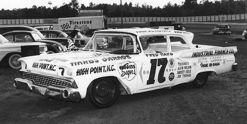 fred harb nascar driver 1950s