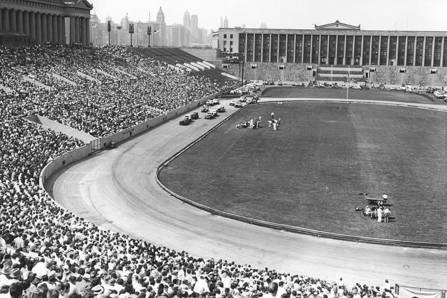 stock car racing at soldier field