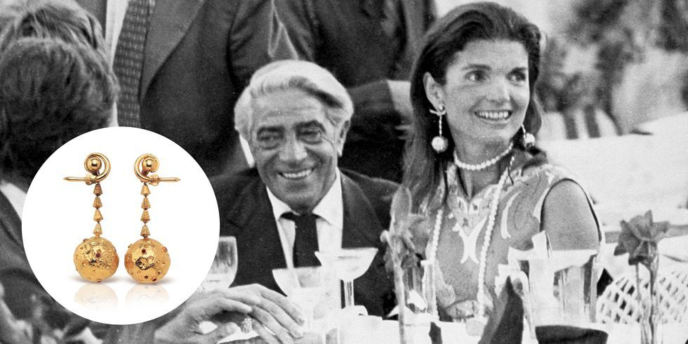 Lalaounis Has Reissued Jackie Kennedy S Iconic Apollo Earrings