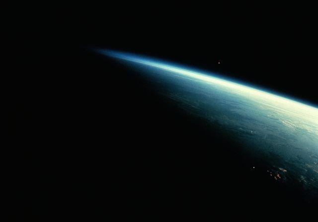 earth in shadow
