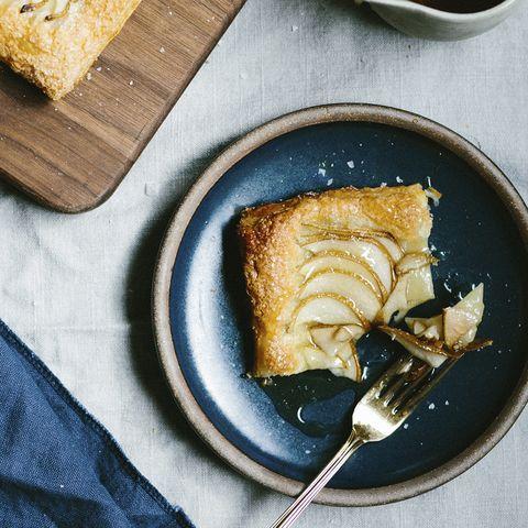 Ashley Rodriguez Recipes - Easiest Pear Tart with Maple Caramel