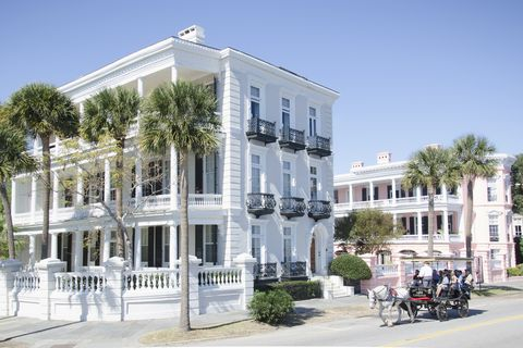 East Bay St. and The Battery, Charleston
