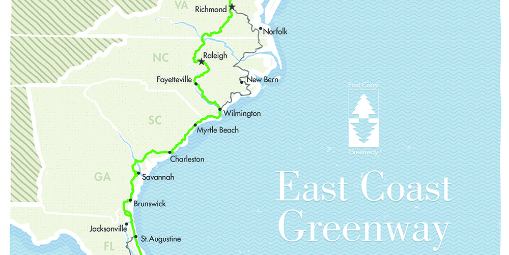 The East Coast Greenway Connects Maine to Florida—Here's Why You Should Add It to Your Bucket List