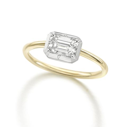 best emerald cut engagement rings   jessica mccormack