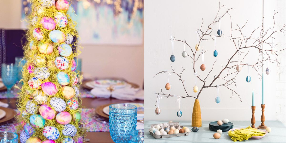 25 DIY Easter Tree Ideas for the Ultimate Spring Décor