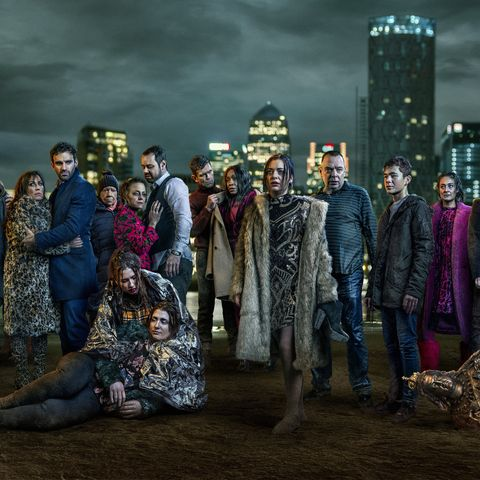 Full cast of the 35th anniversary in EastEnders