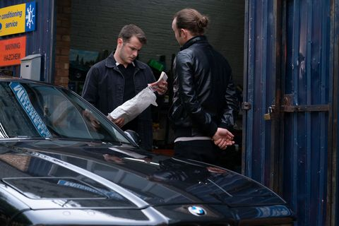 Ben Mitchell with Jason in EastEnders