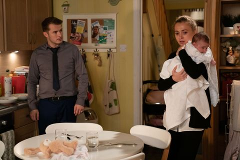 Ben Mitchell and Louise Mitchell in EastEnders