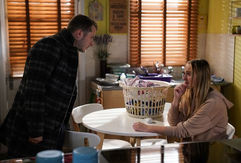 Ben and Louise Mitchell in EastEnders