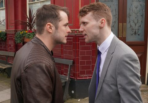 ben mitchell and jay brown in eastenders