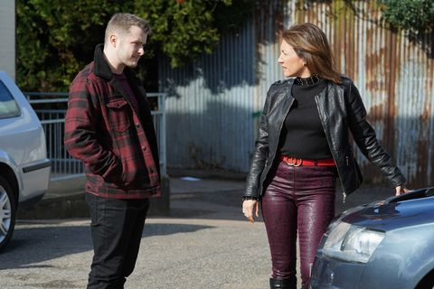Ben Mitchell threatens Rainie Branning in EastEnders