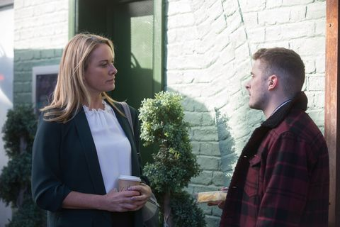 Ben Mitchell tries to unsettle Mel Owen in EastEnders
