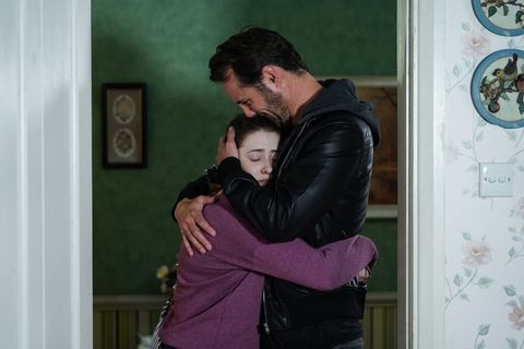 Bex and Martin Fowler in EastEnders