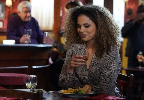Chantelle Atkins at the Queen Vic in EastEnders