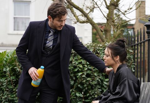gray atkins and whitney dean in eastenders